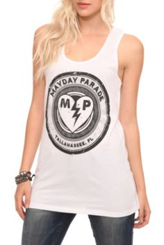 Mayday Parade Heart Girls Tank Top 33ebc3a9dbf