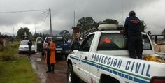 Se atiende con oportunidad la contingencia que se presenta en el municipio de Angangueo, donde se registra una pertinaz lluvia y viento que han levantado algunos techos de lámina y ...