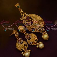 PS10966 Matte Gold Plated Price Imitation Latest Jewellery Designs Online