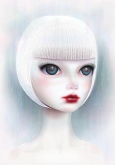 Marie Blanco Hendrickx aka Mijn Schatje | Digital art inspiration | Illustrations