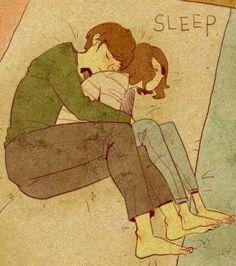 Aşk, huzurlu uykudur. Emre*