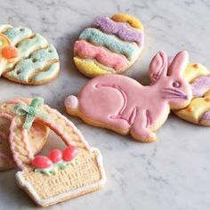 I'm kind of a snob when it comes to sugar cookies - I've always liked my mom's recipe best. Only problem is her recipe doesn't retain cut shapes very well, making the majority of cookies look like blobs. Recently I tried this one, replacing the vanilla with almond flavoring. They are really good, and held their shape wonderfully.
