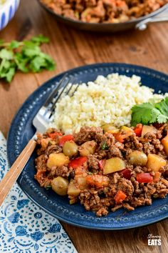 Cuban Beef Picadillo - a delicious hearty ground beef Cuban inspired recipe with flavoursome spices, potatoes, vegetables, olives and sultanas. Vegetarian Recipes Easy, Vegetable Recipes, Healthy Recipes, Healthy Meals, Healthy Food, Mince Recipes, Cooking Recipes, Cuban Recipes, Slimming World Chicken Casserole