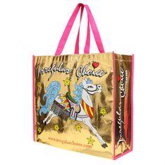 Bolsa de compras... Locura!!    -    IrregularChoice - Gold Shopping Bag