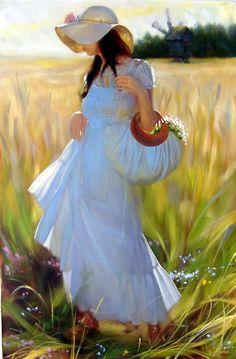 oil painting by Andrei Belichenko, who was born in 1974 in Karaganda, Kazahstan. He is a graduate of the Republican Art Schoo (1990).