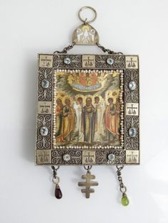 Russian Icon of The Ascension, early 20th c., Moscow, : Lot 1051