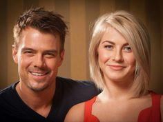 Julianne+Hough+Safe+Haven | Duhamel, left, and Julianne Hough discuss their new film 'Safe Haven ...
