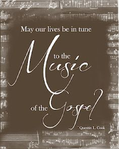 music of the gospel