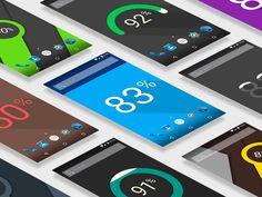 Signa Android UI Design Community — Live Wallpaper by Jiří Sýkora
