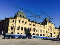 Средние торговые ряды (Красная площадь, д. 5) — комплекс зданий в центре Москвы, построенный в 1889—1893 годах по проекту архитектора Р. И. Клейна. #Moscow.
