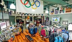 It's home to the Eugene Running Company -- great gear, nice peeps and awesome running groups (even for slow pokes like me)