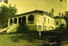 Usina Monte Alegre, Casa da fazenda de Pedro Morganti, proprietário, 1950, Piracicaba SP Brasil