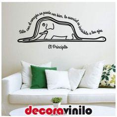 La Boa y el Elefante - El Principito - 85x38 cm