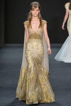 Badgley Mischka - Fall 2015 Ready-to-Wear - Look 36 of 37
