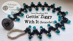 "Make a "" Gettin Ziggy With It "" Bracelet ~ Seed Bead Tutorials"