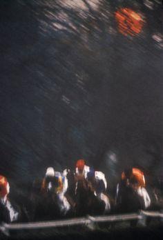 """""""Racetrack in Paris"""" by Gordon Parks"""