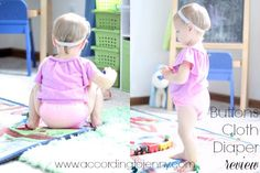 Buttons Cloth Diaper Review - budget cloth diapers