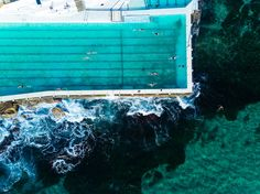 Dreamlike Aerial Photographs of Bondi Beach