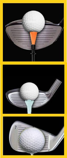Golf Tips Swing Beginner Golf Tip: Correct Tee Height for Fairway Woods, Hybrids and Irons Golf Shafts, Best Golf Clubs, Golf Practice, Tennis Tips, Tennis Rules, Tennis Gear, Tennis Equipment, Tennis Clothes, Golf Putting