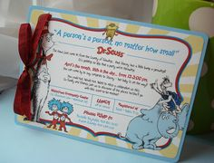 A Person's A Person Dr Suess Layered Baby Shower by envymarketing, $4.00