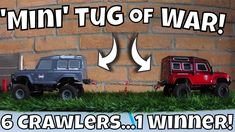 Mini Crawlers Head to Head. Indoor RC Tug of War! Stay Safe, Stay at Home! Quick Games, Tug Of War, Mini S, Stay At Home, Radio Control, Stay Safe, Indoor, Make It Yourself, Interior