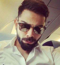 12 Stunning Sunglasses Styles That Virat Kohli Loves - LooksGud. My World, In This World, Virat Kohli Beard, Virat Kohli Instagram, Virat Kohli Wallpapers, Virat And Anushka, Ab De Villiers, Beard Boy, Viria