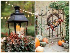 fantastique idée activités manuelles automne deco table d automne inspiration couronne de fleurs d automne bougies
