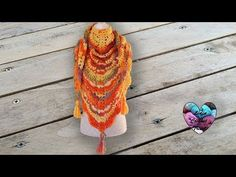 Châles au crochet LidiaCrochetTricot - YouTube Plaid Au Crochet, Lidia Crochet Tricot, Crochet Diy, Crochet Shawls And Wraps, Knitted Shawls, Crochet Scarves, Crochet Videos, Crochet Accessories, Free Pattern