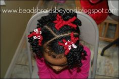 Beads, Braids and Beyond: Part 1: Valentine's Day Hair Share!
