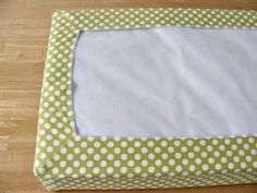 E TELLS TALES: tutorial: contoured changing pad cover