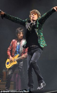 The Rolling Stones Glastonbury 2013    I went to see them at Glastonbury and it was literally best gig I have ever seen.  Mick Jagger is an amazing man :D