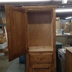 Amish Made Cupboard Custom Finished By Wes Hill At Good Wood Furniture U0026  Mattress