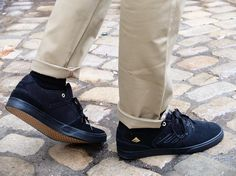 Emnerica Shoes, Emerica The Reynolds Low Vulc Black/Gold