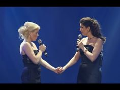"Megan Hilty & Stephanie J. Block sing ""For Good"" from Wicked. I would have LOVED to see Megan play Glinda."