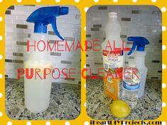 Easy Homemade All Purpose Cleaner