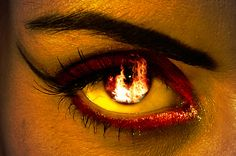 Oh, so perfect as my fire elementals are vampires as this eye reflects ~;^]>