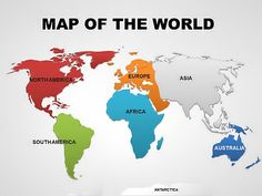Diagram free collection simple world map worksheet best of editable world powerpoint maps gumiabroncs Images