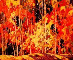 "Franklin Carmichael - ""The Glade-1922"""