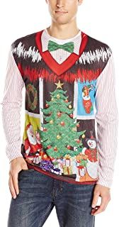 Ugly Christmas Sweater - Ideas that Win all the Ugly Sweater Contests Best Ugly Christmas Sweater, Christmas Jumpers, Christmas Bingo, Christmas Icons, Ugly Sweater Contest, Ugly Sweater Party, Cute Sweaters, Long Sweaters, Xmas Sweaters