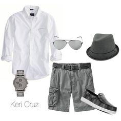 """Summer Fashion for Men"" by keri-cruz on Polyvore"