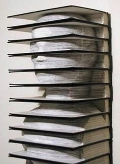 book art...what to do with the outdated encyclopedias....