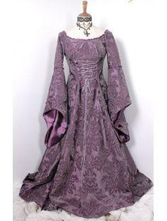 Google Image Result for http://www.devilinspired.co.uk/705-2332-large/flower-printed-velvet-medieval-gothic-dress.jpg