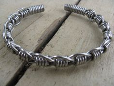 women's stainless steel hand bent wire woven by cricketcapers