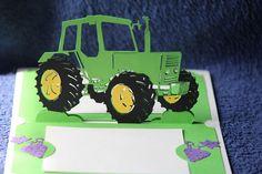 Le tracteur http://carteskirigami.fr/le-tracteur/