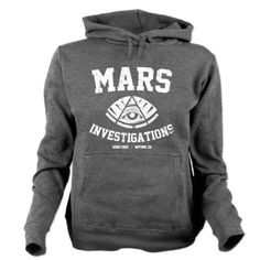 Mars Investigations Hooded Sweatshirt