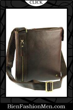 Mens Messenger Bags ♦ Visconti ML25 Messenger Shoulder Crossbody Bag Handbag -Buffalo Leather $84.99