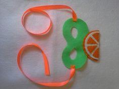 My orange mask