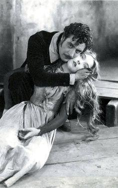 John Gilbert and Lillian Gish in La Boheme (King Vidor, 1926)