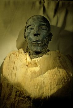 Mummy of Seti I, father of Ramses II, from Egypt's Valley of the Kings, Egyptian Museum, Cairo, New Kingdom