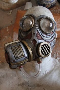 Gas Mask steampunk ish